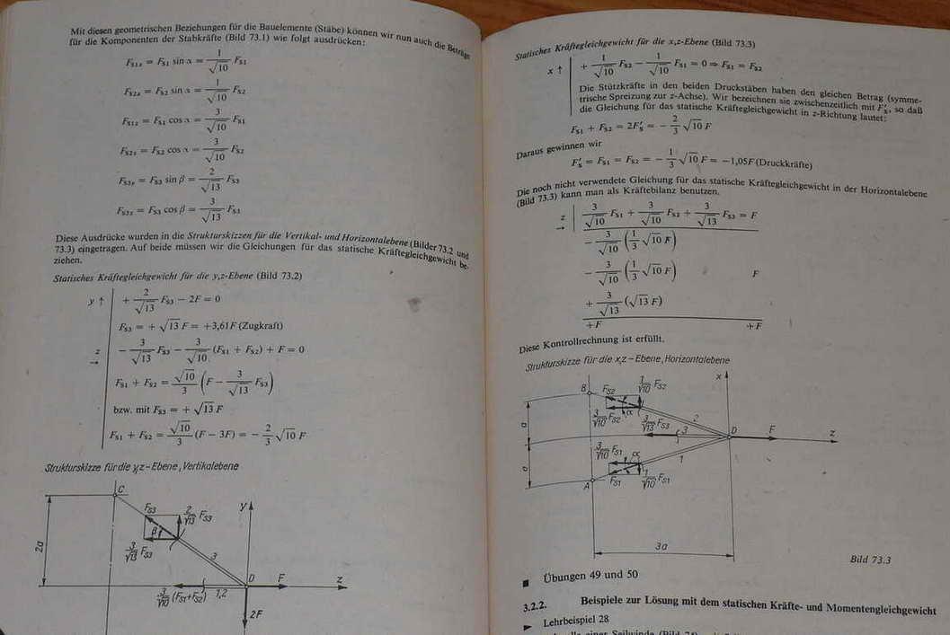 statik grundlagen technische mechanik mit aufgaben