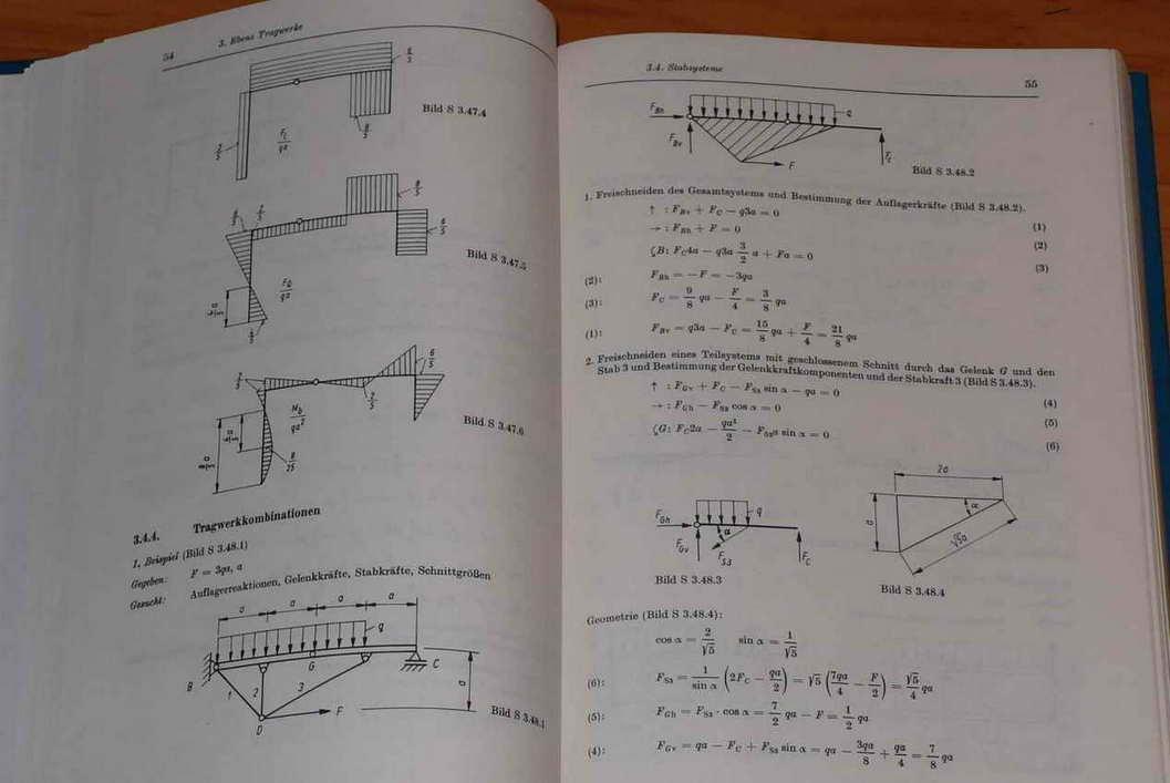 Technische mechanik statik festigkeitslehre dynamik for Statik aufgaben