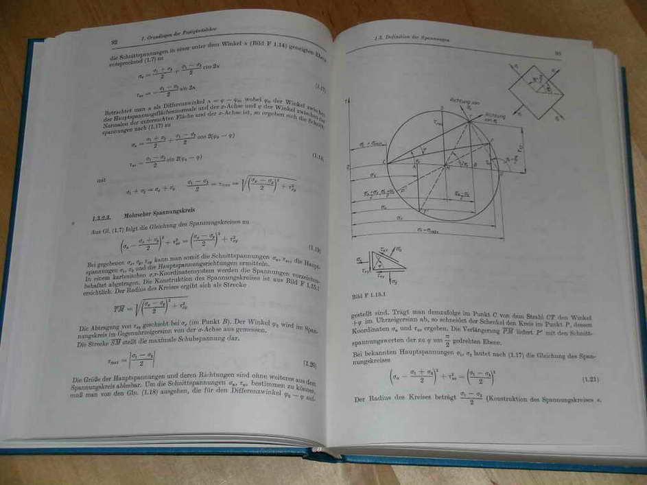 Technische mechanik statik festigkeitslehre dynamik for Statik grundlagen beispiele